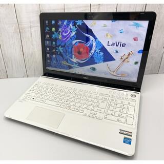 エヌイーシー(NEC)の最高性能 NEC ノートPC Core i7 SSD512GB メモリ8GB(ノートPC)