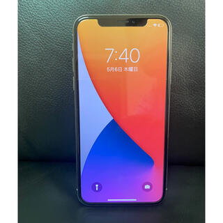 Apple - iPhoneX   256GB SIMフリー シルバー アップルストア