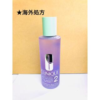 クリニーク(CLINIQUE)のクリニーク クラリファイングローション 2 400mL 海外処方(化粧水/ローション)
