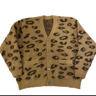 ALLEGE - ttt_msw leopard mohair cardigan L