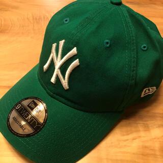 NEW ERA - 新品 US限定 MOMA x Yankees New Era Cap グリーン