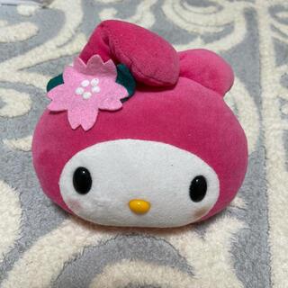 マイメロディ(マイメロディ)のNo.167 マイメロディ 桜ぬいぐるみ(ぬいぐるみ)