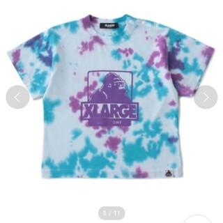 エクストララージ(XLARGE)のタイダイ柄OGゴリラプリント半袖Tシャツ(Tシャツ/カットソー)
