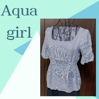 アクアガール(aquagirl)のAqua girl ブラウス(シャツ/ブラウス(半袖/袖なし))