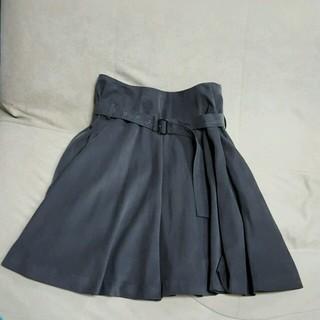 ジーヴィジーヴィ(G.V.G.V.)のハイウエストくしゅくしょスカート(ミニスカート)