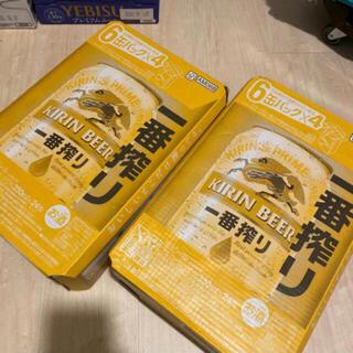 キリン - 一番絞り ビール 350ml 48本(2ケース)