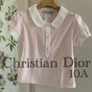 Christian Dior - ⭐️新品⭐️Christian Diorキッズ⭐️女の子ポロシャツ 10A