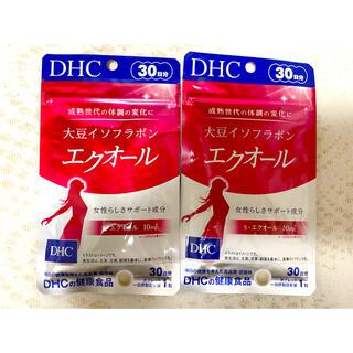 DHC - エクオール 30日分×2袋  新品 未開封
