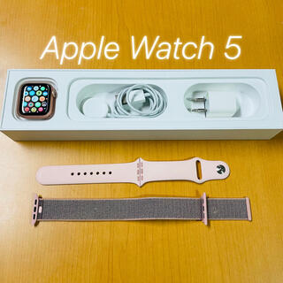 Apple Watch - Apple Watch Series 5 40mm GPSモデル