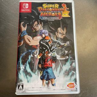 バンダイナムコエンターテインメント(BANDAI NAMCO Entertainment)のスーパードラゴンボールヒーローズ ワールドミッション Switch(家庭用ゲームソフト)