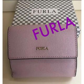 Furla - フルラ 折り財布 コインケース付き ピンク