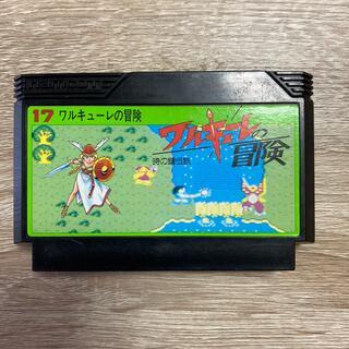 バンダイナムコエンターテインメント(BANDAI NAMCO Entertainment)のファミコンソフト☆ワルキューレの冒険(家庭用ゲームソフト)