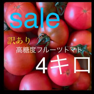 高糖度訳ありフルーツトマト4キロ