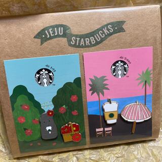 スターバックスコーヒー(Starbucks Coffee)のスタバ 韓国 限定 ピンバッチ(その他)