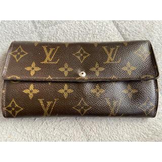 ルイヴィトン(LOUIS VUITTON)の長財布(生地/糸)