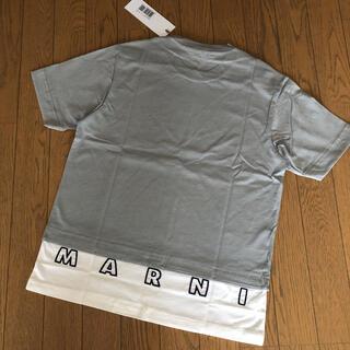 マルニ(Marni)の新品タグ付 MARNI マルニ バック ロゴ Tシャツ キッズ 12Y S(Tシャツ(半袖/袖なし))