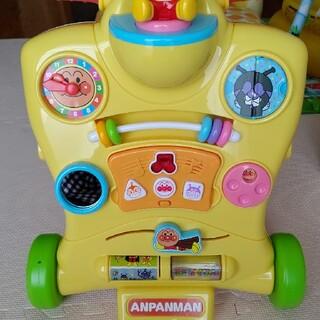 アンパンマン(アンパンマン)のアンパンマン乗って押してへんしんウォーカー(手押し車/カタカタ)