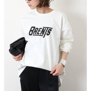 DEUXIEME CLASSE - ドゥーズィエムクラス☆【BRENTS SPORTSWEAR】 ロゴロングTシャツ