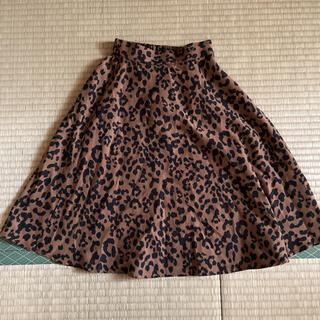 エムピーエス(MPS)のmps ライトオン レオパード ひょう柄 フレアスカート 120(スカート)