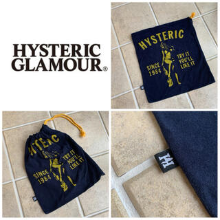 HYSTERIC GLAMOUR - 新品 未使用 HYSTERIC GRAMOUR  パイルバッグ 巾着袋