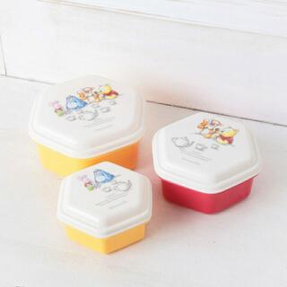 ディズニー(Disney)のお弁当箱 プーさん 3個セット(弁当用品)