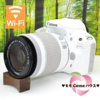 Canon - キャノン Kiss X7♪超可愛い☆真っ白一眼レフ!1576