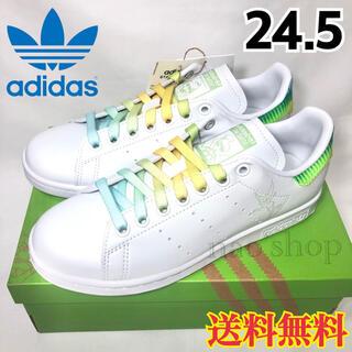 アディダス(adidas)の【新品】アディダス スタンスミス スニーカー ティンカーベル 24.5(スニーカー)