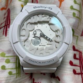 ベビージー(Baby-G)のbaby-G 腕時計 白 ホワイト CASIO (腕時計)