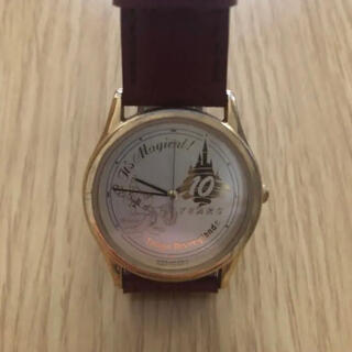 Disney - 【TDL】非売品 東京ディズニーランド 10周年 アニバーサリー 腕時計