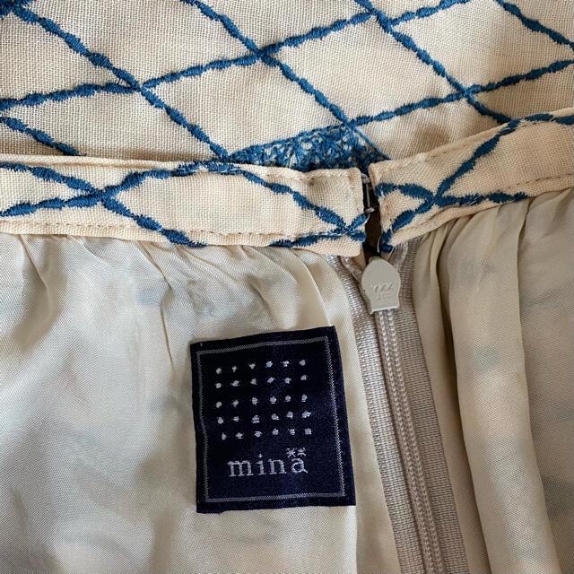 mina perhonen(ミナペルホネン)のミナペルホネン スカート pacific レディースのスカート(ひざ丈スカート)の商品写真