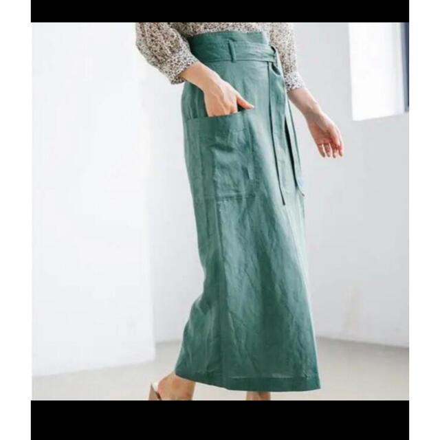 apart by lowrys(アパートバイローリーズ)の値下げ不可! apart by lowrys LVラップフウタックマキシスカート レディースのスカート(ロングスカート)の商品写真