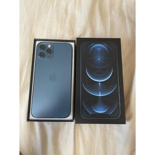 Apple - iphone12 pro パシフィックブルー 128gb SIMフリー