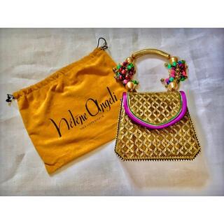 アッシュペーフランス(H.P.FRANCE)の80s HELENE ANGELI Bijoux Couture Bag バッグ(ハンドバッグ)