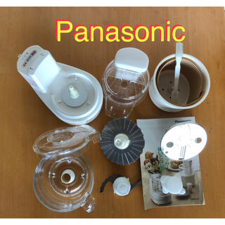パナソニック(Panasonic)のパナソニック Panasonic フードプロセッサー MK-K80P(フードプロセッサー)