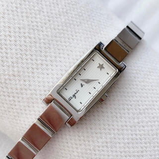 agnes b. - アニエスベー レディースクォーツ腕時計 文字盤ストライプ