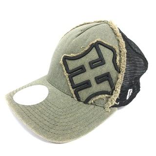 ニューエラー(NEW ERA)のニューエラ NEW ERA メッシュキャップ 阪神タイガーズ 帽子 カーキ(その他)