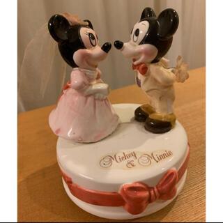 ディズニー(Disney)のはる様専用♥ミッキーちゃんミニーちゃん オルゴール(オルゴール)