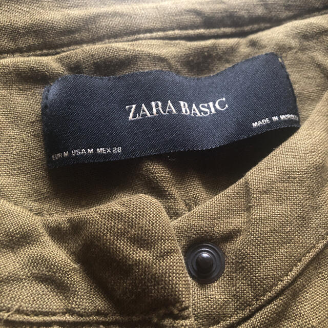ZARA(ザラ)のZARA*リネンジャケット レディースのジャケット/アウター(ノーカラージャケット)の商品写真