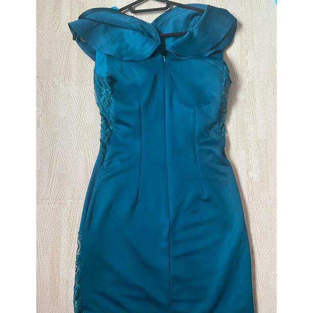 dazzy store(デイジーストア)のキャバドレス グリーン レディースのフォーマル/ドレス(ミニドレス)の商品写真