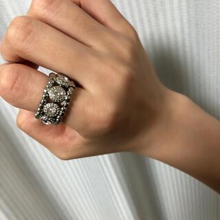 ビーズリング(リング(指輪))