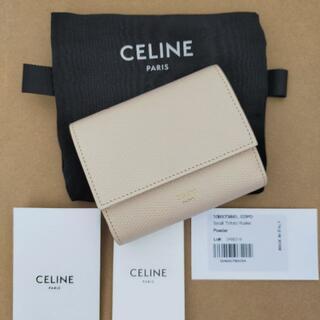 celine - タイムセール セリーヌ CELINE スモール トリフォールド 三つ折り 財布