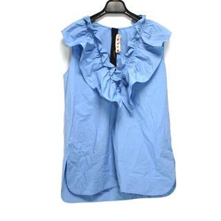 マルニ(Marni)のマルニ サイズ40 M レディース - フリル(カットソー(半袖/袖なし))
