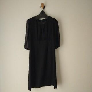 ベルメゾン(ベルメゾン)のケンタッキー様 ブラックフォーマルワンピース(礼服/喪服)