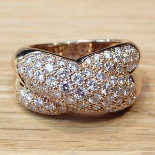 Cartier - 新品同様 カルティエ 研磨済み コリゼ リング 指輪 イエローゴールド ダイヤ