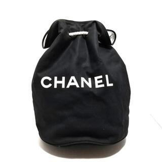 シャネル(CHANEL)のCHANEL(シャネル) レディース - 黒 巾着型(その他)