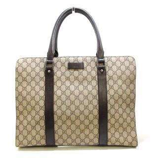 グッチ(Gucci)のグッチ美品  GGプラス・GGスプリーム(ビジネスバッグ)