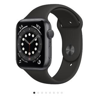 Apple Watch - Apple Watch Series 6 44mm スペースグレイ アルミニウ…