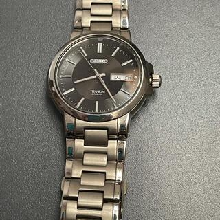 SEIKO - SEIKO 腕時計 チタン 軽量 TITANIUM 7N43-7B80 メンズ