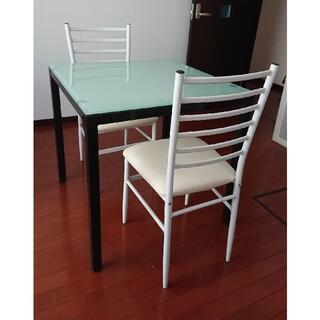 イスとテーブルセット(ダイニングテーブル)