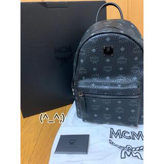 MCM - 正規品 MCM スタッズリュック 黒 Sサイズ